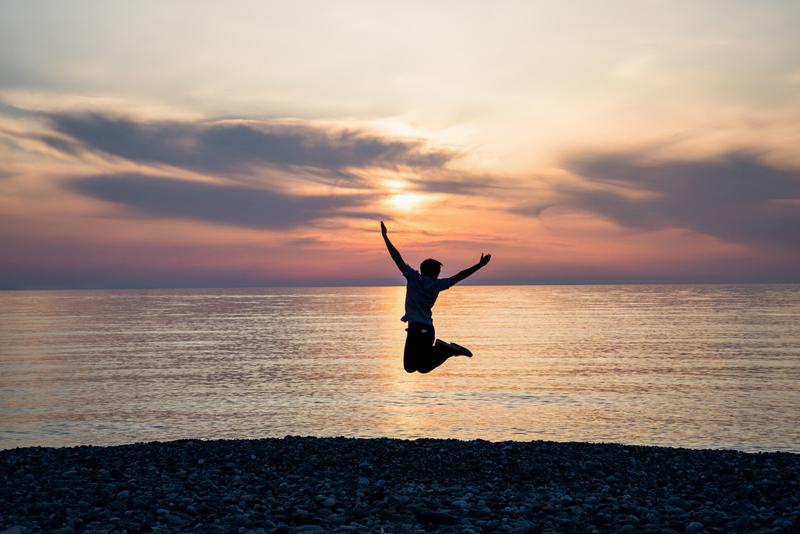 普通の人がストレスに感じるような環境変化も、 自分の気持ちをリセットして楽しむことが成長していくための秘訣