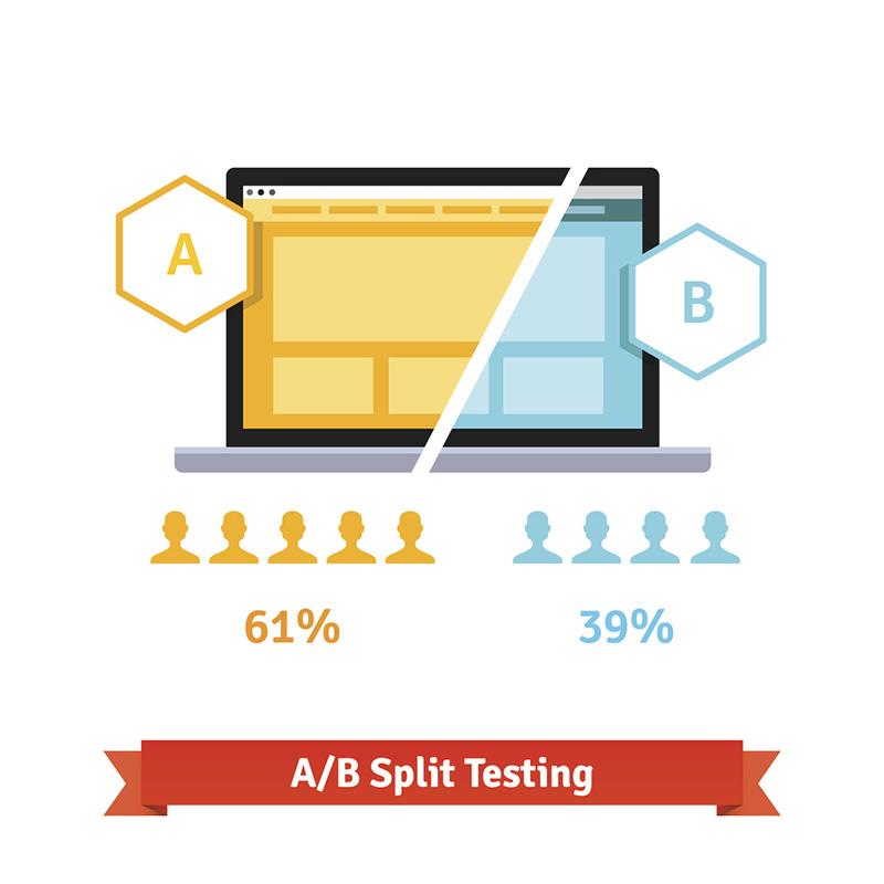 ホームページで集客を上げるには、繰り返しABテストを行うべし!