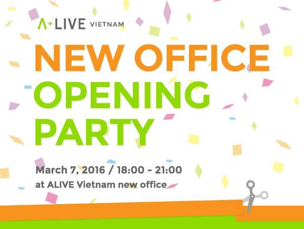 3月7日 ベトナムオフィス移転オープニングパーティーを開催します!
