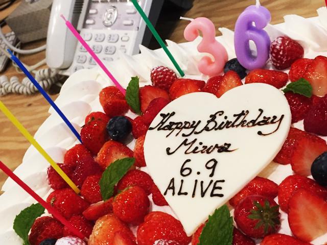 6月9日(ロックの日)は社長の誕生日!サプライズパーティーを行いました。