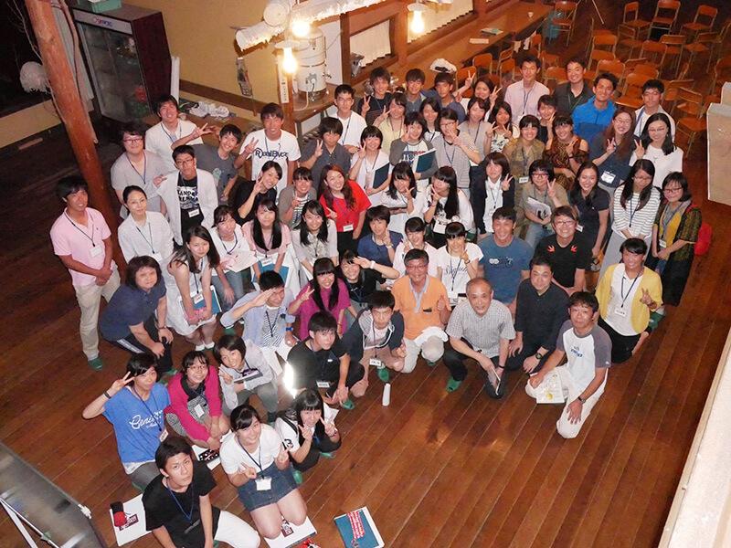 高山グローバルサマーフェスタに旭丘高校OB起業家として代表 三輪が講演をしました。
