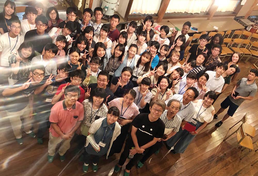 今年も高山グローバルサマーフェスタに旭丘高校OB起業家として代表 三輪が講演をしました。