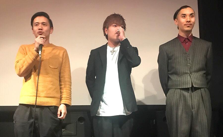 アライブが協賛している映画「唾と蜜」の初上映会に行ってきました。