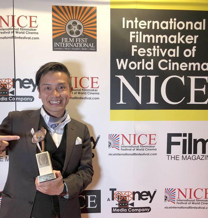 「唾と蜜」がニース国際映画祭・新人監督賞受賞しました。