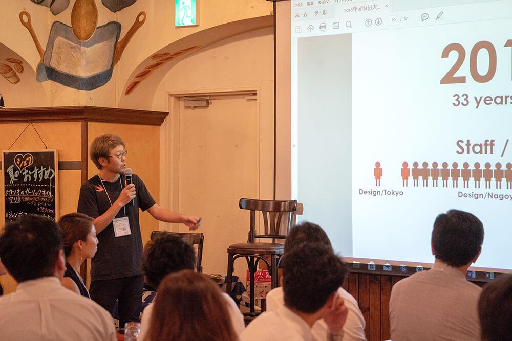 大坂塾総会にて弊社代表 三輪がスピーチしました。