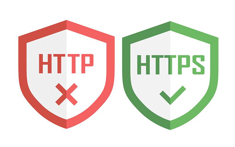 WEBサイトのSSL化を推奨